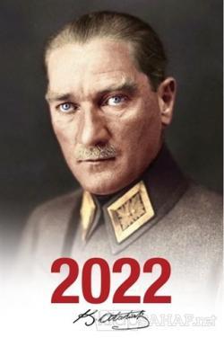 2022 Atatürk Ajandası Mareşal - Beyaz