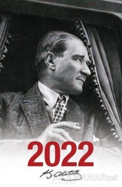 2022 Atatürk Ajandası Mustafa Kemal - Beyaz