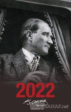 2022 Atatürk Ajandası Ulu Önder - Siyah