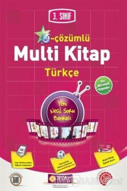 3. Sınıf E-Çözümlü Multi Kitap Türkçe