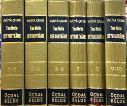 EVLİYA ÇELEBİ SEYHATNAMESİ (6 KİTAP 10 CİLT TAKIM) - Evliya Çelebi | Y