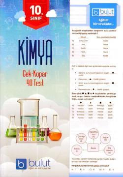 Bulut 10. Sınıf Kimya Çek Kopar 40 Test