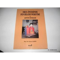 okul öncesinde fen bilgisi öğretimi ve aktivite örnekleri