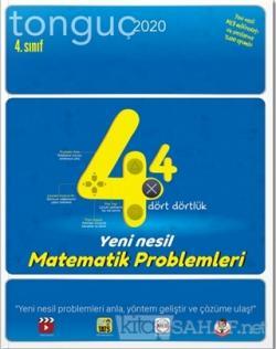 4. Sınıf Dört Dörtlük Yeni Nesil Matematik Problemleri 2020
