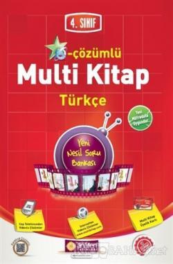 4. Sınıf E-Çözümlü Multi Kitap Türkçe
