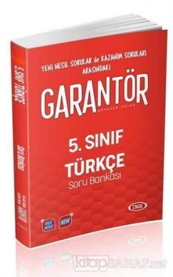 5. Sınıf Garantör Türkçe Soru Bankası
