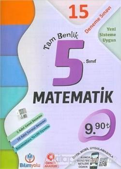 5. Sınıf Matematik Tam Benlik 15 Deneme Sınavı