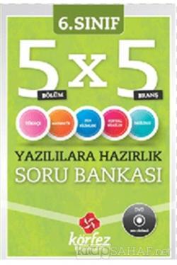 6. Sınıf 5x5 Yazılılara Hazırlık Soru Bankası