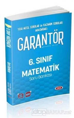 6. Sınıf Garantör Matematik Soru Bankası