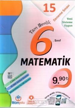 6. Sınıf Matematik Tam Benlik 15 Deneme Sınavı
