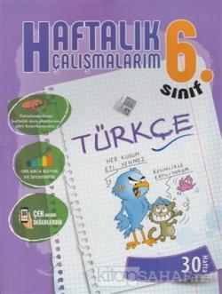 6. Sınıf Türkçe Haftalık Çalışmalarım 30 Hafta