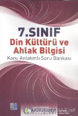 7.Sınıf Din Kültürü ve Ahlak Bilgisi Konu Anlatımlı Soru Bankası