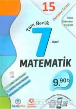 7. Sınıf Matematik Tam Benlik 15 Deneme Sınavı