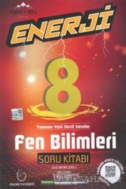 8. Sınıf Enerji Fen Bilimleri Soru Kitabı - Ümit Baraklıoğlu | Yeni ve