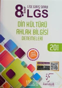 8. Sınıf LGS Din Kültürü Ahlak Bilgisi Denemeleri 20 Deneme