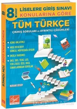 8. Sınıf LGS Konularına Göre Tüm Türkçe Çıkmış Soruları ve Ayrıntılı Çözümleri