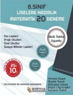 8. sınıf Liselere Hazırlık Matematik 20 Deneme