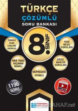 8. Sınıf Türkçe Çözümlü Soru Bankası