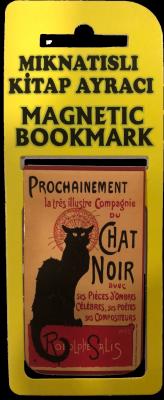 Kedi Kitap Ayracı Mıknatıslı 8x5cm