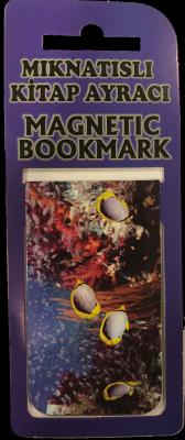 Su Altı Kitap Ayracı Mıknatıslı 8x5cm