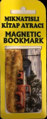 Eski Pickup Kitap Ayracı Mıknatıslı 8x5cm