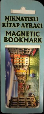 Venedik Kitap Ayracı Mıknatıslı 8x5cm