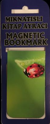 Uğurböceği 2 Kitap Ayracı Mıknatıslı 8x5cm