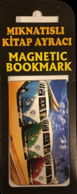 Vosvos Kitap Ayracı Mıknatıslı 8x5cm