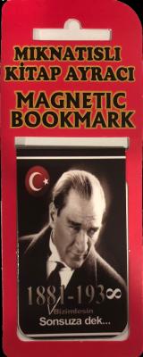Atatürk Kitap Ayracı Mıknatıslı 8x5cm