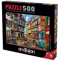 Arnavut Kaldırımı Puzzle 500 Parça 3614