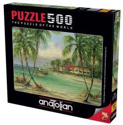 Palmiye Manzarası Puzzle 500 Parça 3616