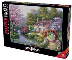 Çiçekli Ev Puzzle 1500 Parça 4556