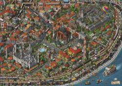 Puzzle 3000 Parça Fractal İstanbul