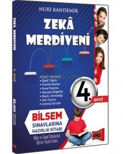 Yargı 4. Sınıf Zeka Merdiveni Bilsem Sınavlarına Hazırlık Kitabı Yeni