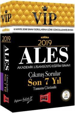 Yargı VIP ALES Son 7 Yıl Tamamı Çözümlü Çıkmış Sorular 2019 Yeni