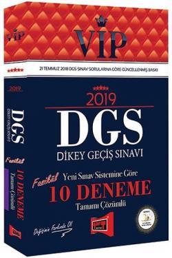 Yargı VIP DGS 10 Deneme Tamamı Çözümlü 2019 Yeni