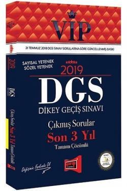 Yargı VIP Sayısal Yetenek Sözel Yetenek DGS Çıkmış Sorular Son 3 Yıl Tamamı Çözümlü 2019 Yeni