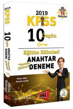 Yargı KPSS Eğitim Bilimleri Tamamı Çözümlü 10 Anahtar Deneme