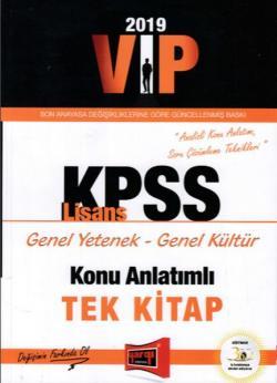 Yargı 2019 KPSS VIP Genel Yetenek Genel Kültür Konu Anlatımlı Tek Kitap Yeni
