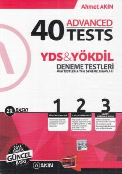 Yargı YDS YÖKDİL 40 Advanced Tests 29. Baskı Akın Dil Yargı Yeni