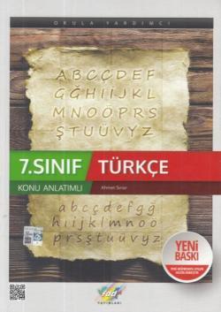 FDD 7. Sınıf Türkçe Konu Anlatımı Yeni