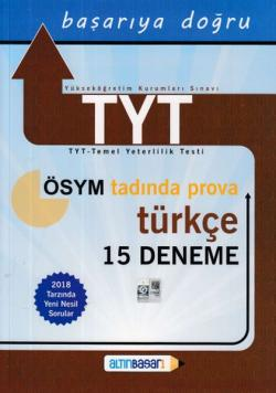 Altınbaşarı TYT Türkçe 15 Deneme Yeni