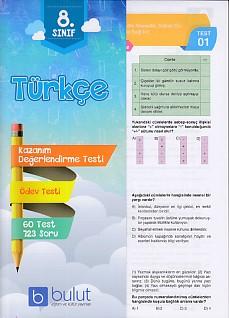 Bulut Eğitim 8. Sınıf Türkçe Değerlendirme ve Ödev Testleri