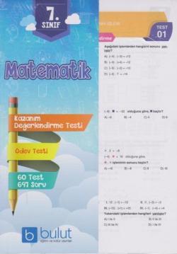 Bulut Eğitim 7. Sınıf Matematik Yaprak Test