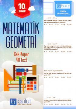 Bulut 10. Sınıf Matematik Geometri Çek Kopar 40 Test
