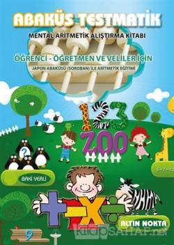 Abaküs Testmatik - Mental Aritmetik Çalışma Kitabı