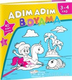 Adim Adim Boyama 3 4 Yas Hasan Cakir Yeni Ve Ikinci El Ucuz Kitabi