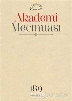 Akademi Mecmuası Sayı: 189 Ocak 2019