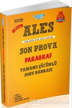 ALES Son Prova Paragraf Tamamı Çözümlü Soru Bankası - Kolektif | Yeni