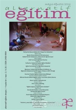Alternatif Eğitim Dergisi Sayı: 2 Mayıs - Ağustos 2016